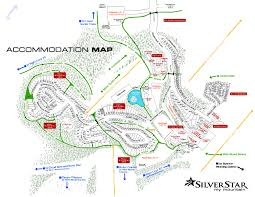 village map silver star mountain resort