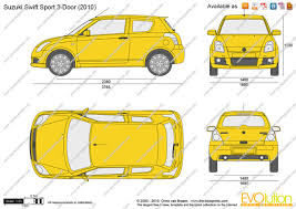 the blueprints com vector drawing suzuki swift sport 3 door