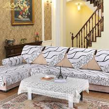 l shaped sectional sofa covers popular sofa cover striped buy cheap sofa cover striped lots from