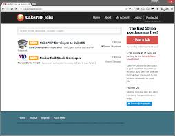 looking for a new cakephp job cakephpjobs com is online