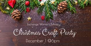the exchange church ft worth tx u003e christmas craft party