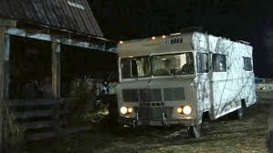 which model of rv is the walking dead winnebago