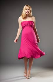 photo maternity dresses for baby shower image