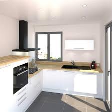 cuisine bois et blanche cuisine bois noir stunning cuisine dessin cuisine bois noir mat as