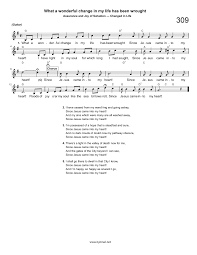 i will enter his gate with thanksgiving in my heart hymn what a wonderful change in my life has been wrought
