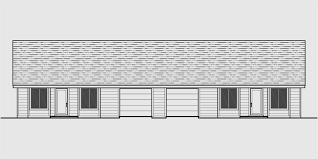 2 bedroom ranch house plans one level duplex house plans corner lot duplex plans narrow lot