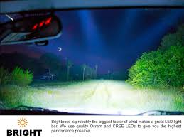 Led Flood Light Bars by New Spot Or Flood Led Light Bar 41 In Stainless Steel Led Flood