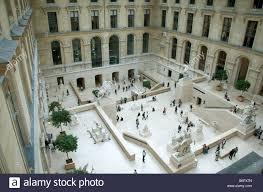 france paris louvre museum marly courtyard seine river