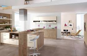 couleur magnolia cuisine contemporary kitchen laminate island 216 tara 205