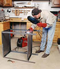 diy portable welding table metal welding table