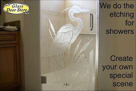 Etched Shower Doors New Ideas Etched Shower Doors With Etched Glass Doors Frosted