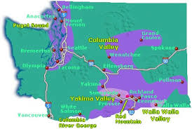 map of oregon wineries map of winery regions in washington state go northwest a travel