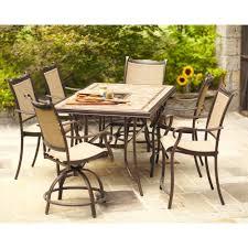 Hampton Bay Woodbury 7 Piece Patio Dining Set - patio furniture cushions home depot pictures pixelmari com