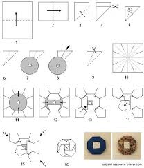 Origami Cd Cover - to make an origami fold yourself cd cover with a