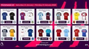 Jadwal Liga Inggris Jadwal Siaran Langsung Sepak Bola Akhir Pekan Ini Bigmatch