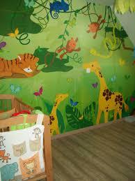 décoration jungle chambre bébé beau deco chambre bebe theme jungle et daco chambre savane galerie