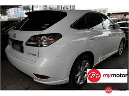 lexus suv 2016 price malaysia 2009 lexus rx for sale in malaysia for rm139 800 mymotor