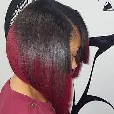 slightly angled long bob angled long bob red ombre hair hair motive hair motive