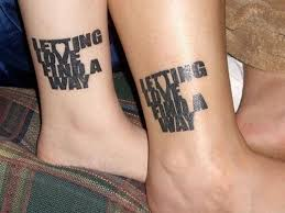 couples with matching tattoos theberry