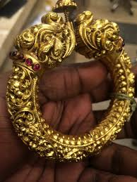 golden bangle ornamental bangle indian jewelry