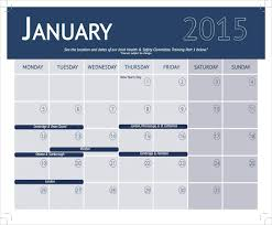 training calendar template u2013 25 free word pdf psd documents