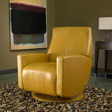 Yellow Recliner Chair American Leather Cardinal Recliner Modern Recliners