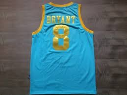 lakers light blue jersey los angeles lakers 8 kobe bryant baby blue nba jersey wholeasale