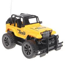 yellow jeep rc jeep 1 24 drift speed radio suv remote control off road vehicle