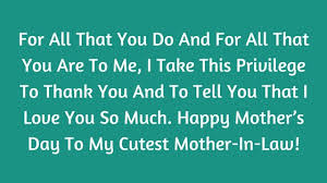 happy mother u0027s day wishes from son u0026 daughter in law 2017 sms