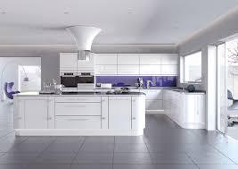 White High Gloss Slab Kitchen Units Slab Style White Gloss - White gloss kitchen cabinets