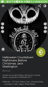 nightmare before christmas watchface album on imgur