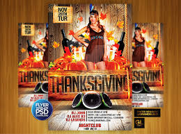 thanksgiving flyer template by grandelelo on deviantart