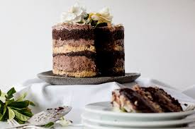 momofuku german chocolate espresso cake u0026 a blog birthday the