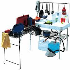 GSI Camp Kitchen GSI Gourmet Camp Kitchen With Sink - Gourmet kitchen sinks