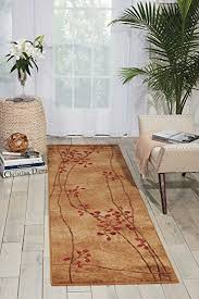 Nourison Kitchen Rugs Nourison Somerset St74 Latte Runner Area Rug 2