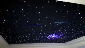 fiber optic starry sky effect ceiling glass fiber optic led mesh
