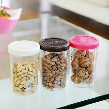clear plastic kitchen canisters kitchen plastic clear food storage jar tea canister dried fruit