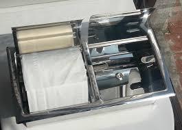 Toilet Stainless Steel Industrial Style Toilet Paper Holder Stainless Steel Industrial