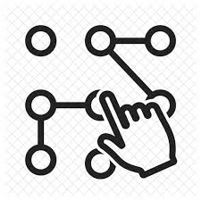 pattern lock design images pattern lock icon sign symbol icons in svg and png iconscout