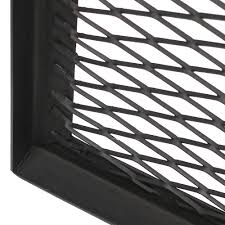 Firepit Grille by Sunnydaze X Marks Square Fire Pit Cooking Grill Steel Grate