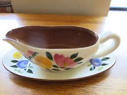 stangl pottery fruit and flowers vintage stangl pottery fruit and flowers ceramic gravy boat w