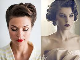 vintage bridal hair wedding hair style