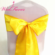 yellow chair sashesaffordable wedding favors online get cheap yellow satin sash aliexpress alibaba