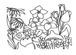 spring printable coloring pages ipad coloring spring printable