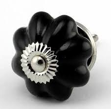 black ceramic cabinet knobs black ceramic cabinet knob set 6pc k89 cupboard drawer pu https