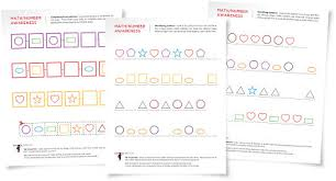 helping children understand patterns with free worksheets and