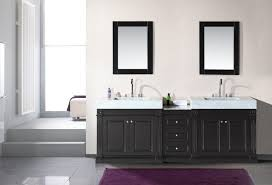 uncategorized undermount trough bathroom sink with two faucets
