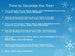 time to decorate the tree ppt