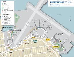 Frontier Flight Map Terminal Maps U2013 Laguardia Airport