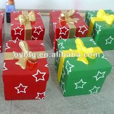 where can i buy christmas boxes fiberglass christmas decorations christmas gift box bowknot gift